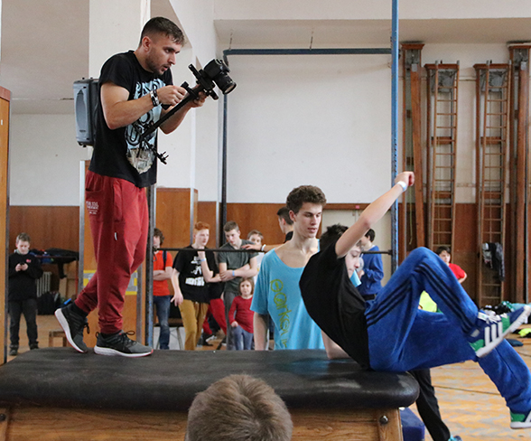 Tary Parkour Workshop - Brno #2