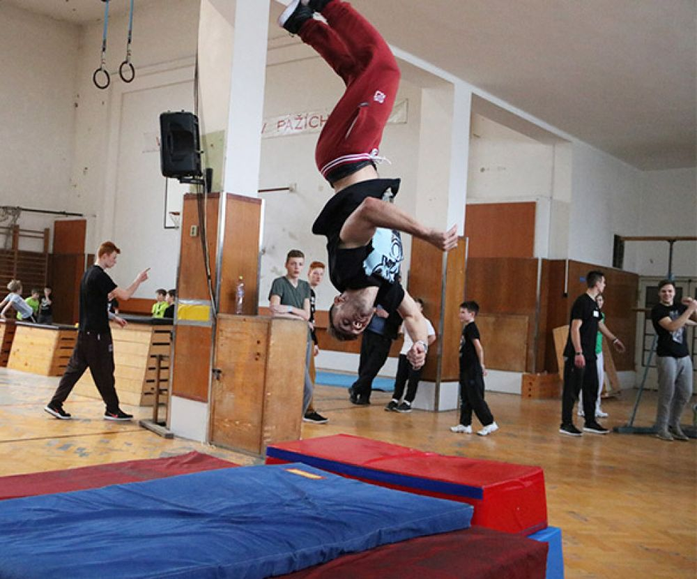 Tary Parkour Workshop - Brno #1