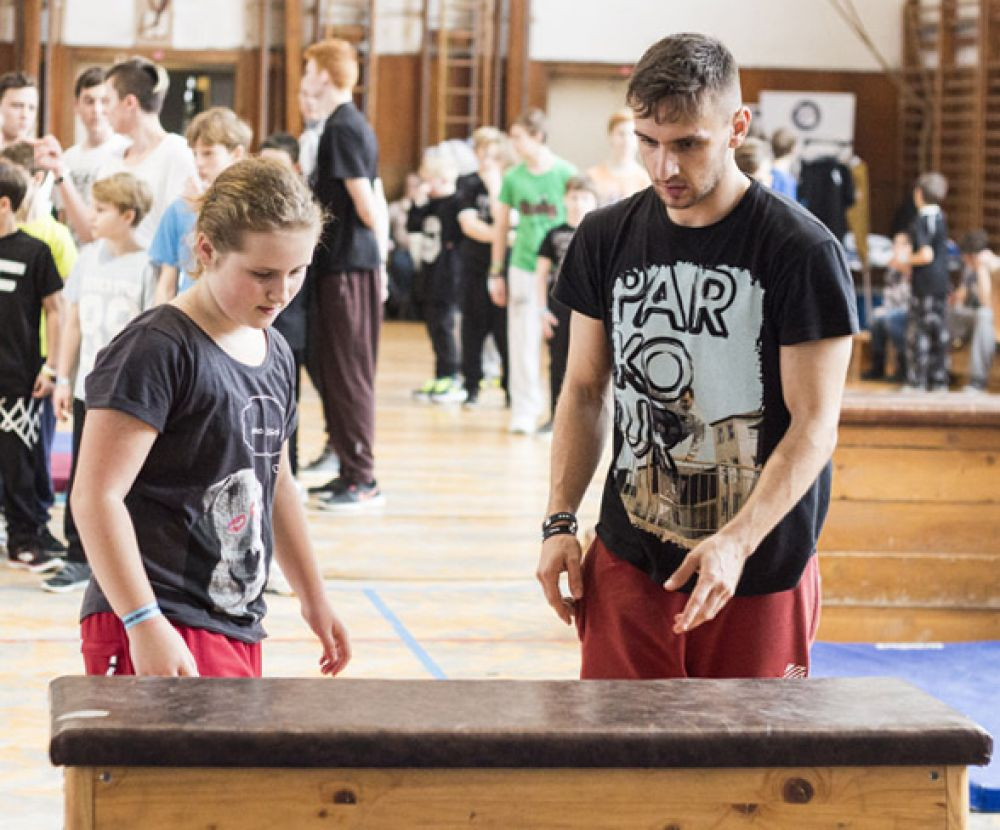 Tary Parkour Workshop - Olomouc #6