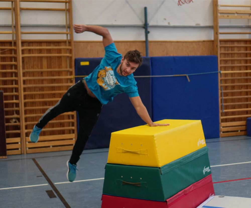 Tary Parkour Workshop - Olomouc #2